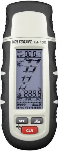 Anyagnedvesség mérő, fa- és épületnedvesség mérő, Voltcraft FM-400