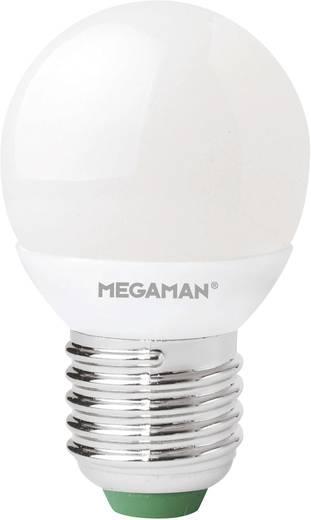 LED 77 mm Megaman 230 V E27 3.5 W = 25 W Csepp forma, tartalom: 1 db