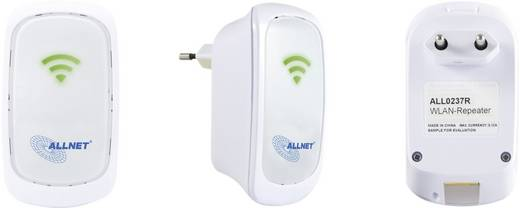 WLAN repeater, hatótáv növelő 300 MBit/s 2.4 GHz Allnet ALL0237R