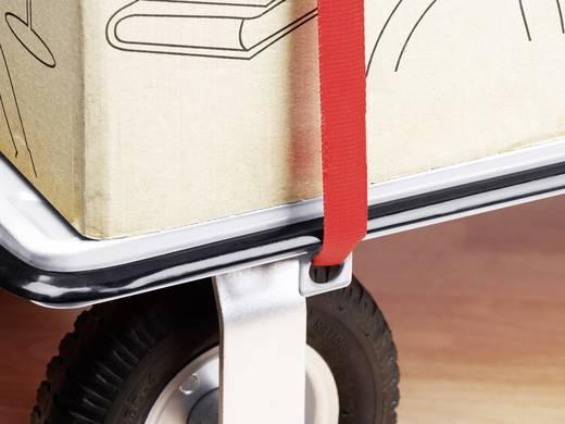 Összecsukható, platós kézikocsi, áruszállító kocsi, szerszámtároló rekesszel, 300 kg-ig Super Cross Over Outdoor 8985680