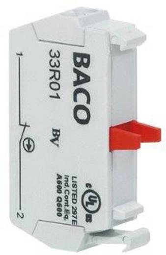 Érintkező elem 600 V 10 A, 1 x be/(ki), csavaros, BACO 33R01