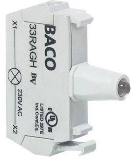 Előlapra felszerelhető LED-modul, BACO 33RAGL