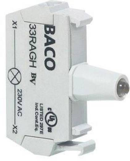 Előlapra felszerelhető LED-modul, BACO 33RAYL