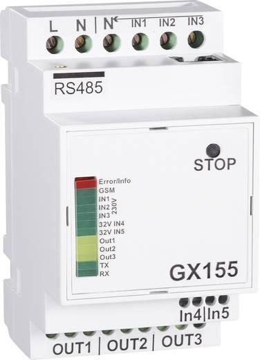 GSM távkapcsoló-/riasztási modul GX155 kalapsínre szereléshez, Conrad