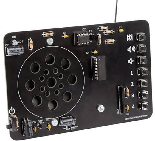 Velleman digitális URH rádió építőkészlet MK194, 9 V/DC