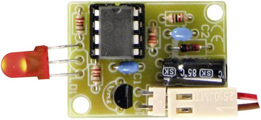 LED-es kijelző 12 V-os autó akkukhoz építőkészlet 12 V, Velleman MK189
