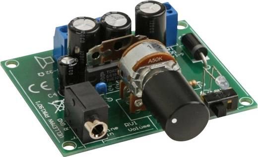 Velleman 2 x 5 W-os erősítő MP3 lejátszóhoz MK190 építőkészlet 6 - 14 V/DC