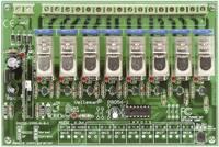 Velleman 8 csatornás RF távirányító készlet VM118 modul 230 V/AC Velleman