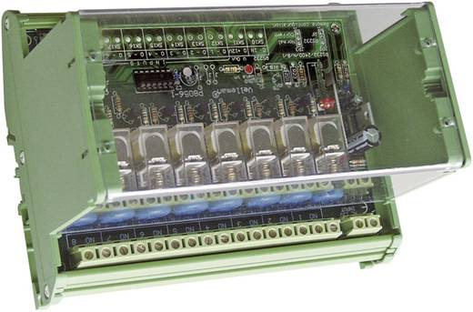 Velleman 8 csatornás RF távirányító készlet VM118 modul 230 V/AC