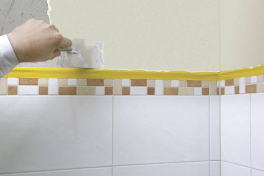 Takarószalag Standard Plastering Tape 33 m x 50 mm fehér Tesa 4172