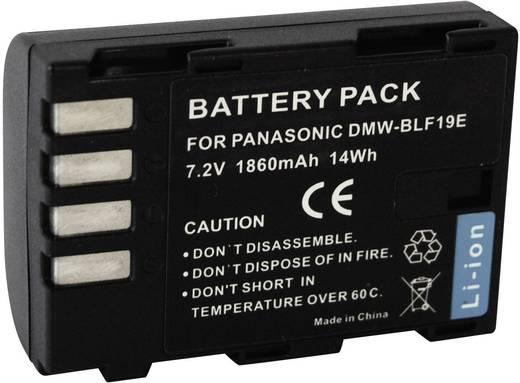 DMW-BLF19 Panasonic kamera akku 7,2 V 1860 mAh, Conrad energy