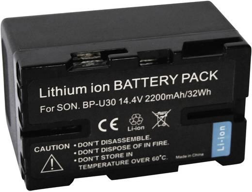 BP-U30 Sony kamera akku 14,4V, 2200 mAh, Conrad energy