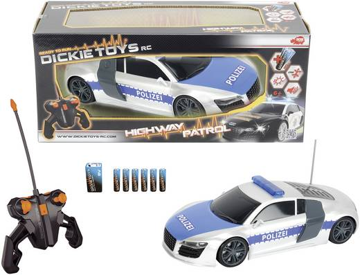 Dickie Toys (201119059) Highway Patrol 1:16 modell autó távirányítóval