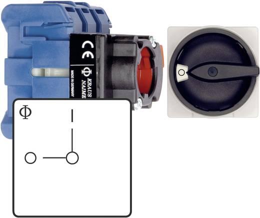 Főkapcsoló 22 mm, 1,5 kW, gyors rögzítésű, Kraus & Naimer KG10B T102/01 FT2