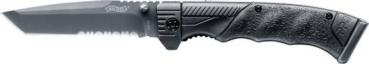 Többfunkciós zsebkés, rozsdamentes acél penge, Walther PPQ Tanto