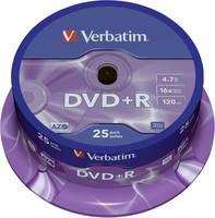Írható DVD+R 4.7 GB Verbatim 43500 25 db Verbatim