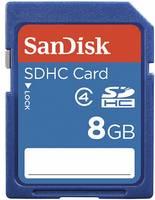 SDHC kártya, SanDisk 8GB, 2. osztály SanDisk SDSDB-008G-B35 SDHC Karte, 8 GB SanDisk