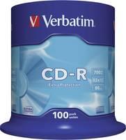 Verbatim 43411 Írható CD-R 80 700 MB 100 db orsó Verbatim