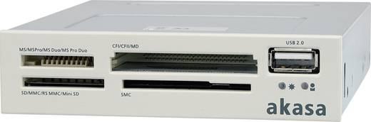 """Beépíthető memóriakártya olvasó 8,9 cm (3,5"""") Akasa AK-ICR-01B fekete/fehér"""
