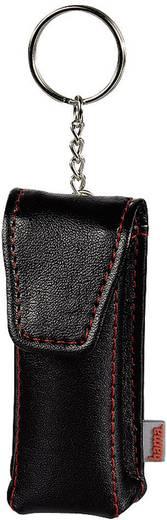 Pendrive tároló tok, kulcstartós pendrive tok fekete színben Hama