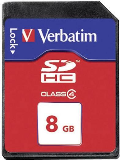 SDHC kártya 8 GB Verbatim Class 4