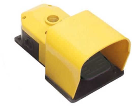 Pizzato Elettrica Lábkapcsoló védőburkolattal PX PX10110-B sárga, fekete, Billenő érintkező 250 V/AC 6 A