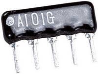 Ellenállás sor 100 Ω 0,125 W ± 2 % SIP 4+1