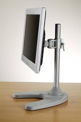 LCD monitortartó állvány, hordozható, max. 10 kg, 35,56 - 43,18 cm (14 -17)