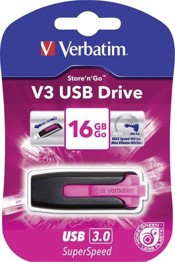 USB stick 16 GB Verbatim V3 Rózsaszín 49178 USB 3.0
