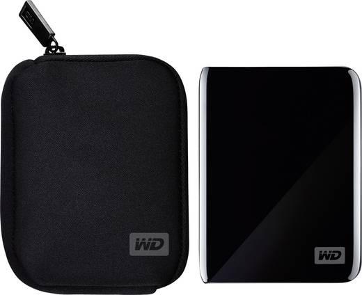 HDD merevlemez cipzáras hordtáska 2.5 Western Digital WDBABK0000NBK-ERSN