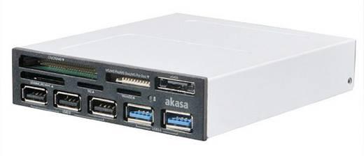 """Beépíthető memóriakártya olvasó 8,9 cm (3,5"""") Akasa AK-ICR-17 fekete"""