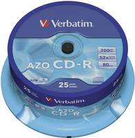 Verbatim 43352 Írható CD-R 700 MB 25 db orsó Verbatim