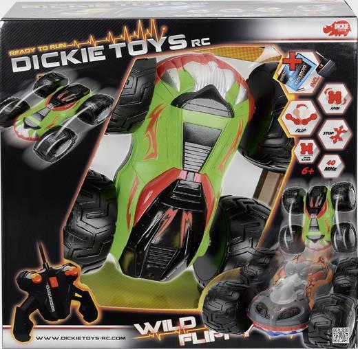 RC autó modell távirányítóval, Dickie Toys Wild Flippy 1:14