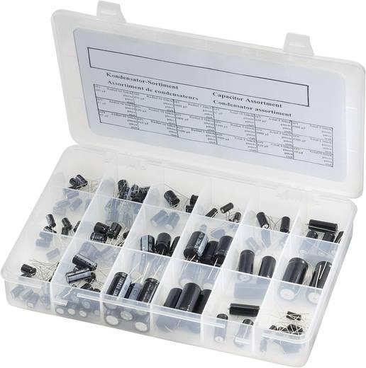 Elektrolit kondenzátor készlet, 121 részes
