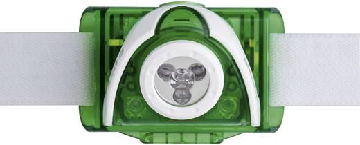LED-es fejlámpa, elemes, 2 LED 90 lm 40 m 40 óra 96 g, zöld, Ledlenser SEO 3 6103