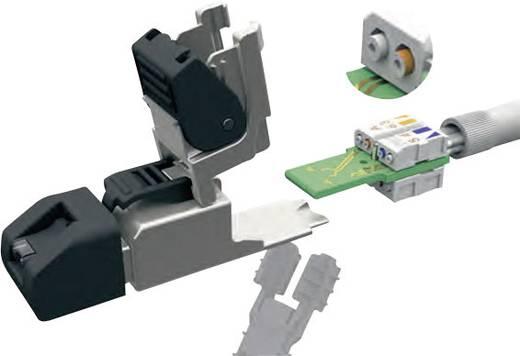 RJ45 dugó, konfekcionálható dugó, egyenes UFP8 Telegärtner tartalom: 1 db