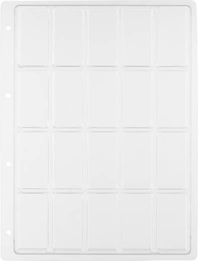 Weltron 20 részes alkatrésztároló doboz, átlátszó, 305 x 231 x 16,8 mm