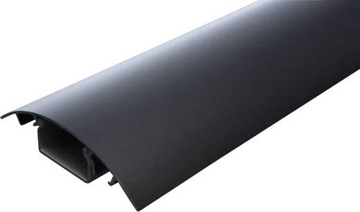 Kábelcsatorna (H x Sz x Ma) 1000 x 80 x 20 mm Fekete (eloxált) Alunovo Tartalom: 1 db