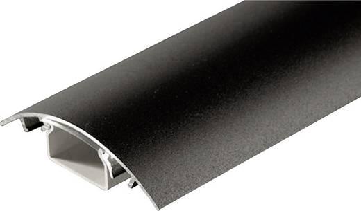Kábelcsatorna (H x Sz x Ma) 500 x 80 x 20 mm Fekete (matt) Alunovo Tartalom: 1 db