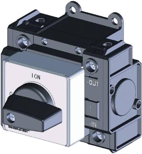 Sälzer DC terhelés leválasztó kapcsoló 20 A 1 x 90 ° fekete Sälzer D221-83200-026M1 1 db