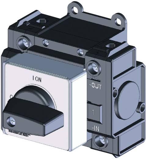 Sälzer DC terhelés leválasztó kapcsoló 32 A 1 x 90 ° fekete Sälzer D222-83200-026M1 1 db