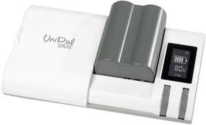 Univerzális fényképezőgép akku és kamera akkutöltő NiCd, NiMH, LiIon, LiPo akkukhoz Hähnel Unipal-Plus 320325 10003800 Hähnel