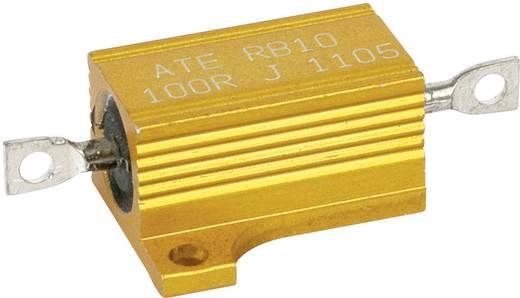 Huzalellenállás, nagy terhelhetőségű, 12 W ATE Electronics RB10/1-0,1R-J 10 Ω, Huzal, 12 W, 5 %, RB10/1-0,1R-J