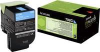 Lexmark Toner 702C CS310 CS410 CS510 70C20C0 Eredeti Cián 1000 oldalak (70C20C0) Lexmark
