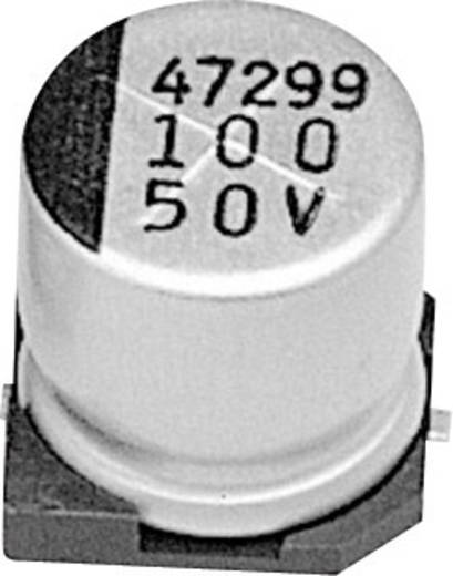 Elektrolit kondenzátor SMD 10 µF 50 V 20 % (Ø x Ma) 6 mm x 5 mm Samwha RC1H106M6L005VR 1 db