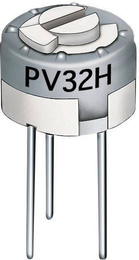 Lineáris cermet trimmer potméter, felső állítással 0.5 W 1 MΩ Murata PV32H105A01B00