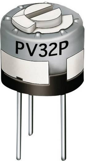 Lineáris cermet trimmer potméter, felső állítással 0.5 W 20 kΩ Murata PV32P203A01B00