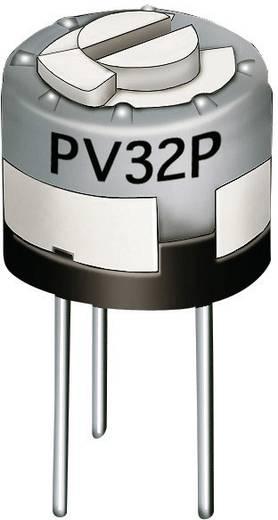 Lineáris cermet trimmer potméter, felső állítással 0.5 W 500 kΩ Murata PV32P504A01B00
