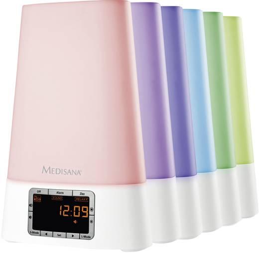 Digitális, rádiós, fénnyel ébresztős óra, Medisana WL 450 45105