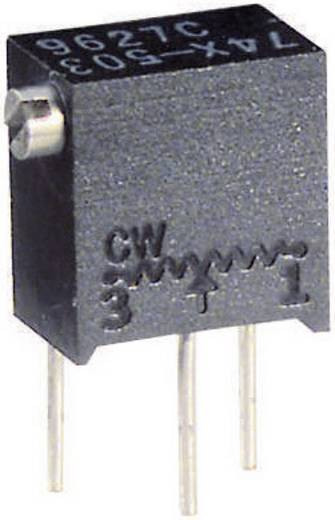 Precíziós trimmer potméter 12 menetes, lineáris, 0,25 W 10 kΩ 4320° Vishay 74X 10K